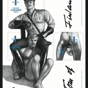 Tom Finlandia stamp